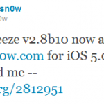 Sn0wbreeze 2.8b10 Released To Jailbreak iOS 5.0.1 Beta 2–Download Now